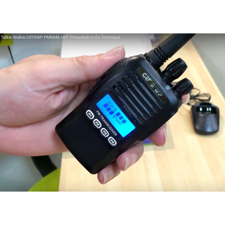 CRT 8WP TALKIE-WALKIE UHF PMR