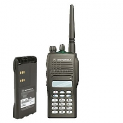 Motorola GP-380 - Talkie-walkie professionnel 255cx VHF ou UHF