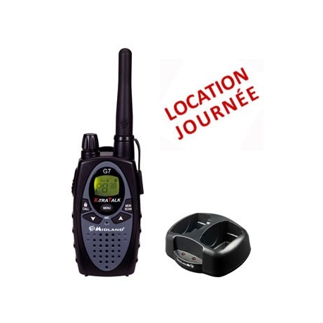 LOCATION TALKIE PMR G7- JOURNEE