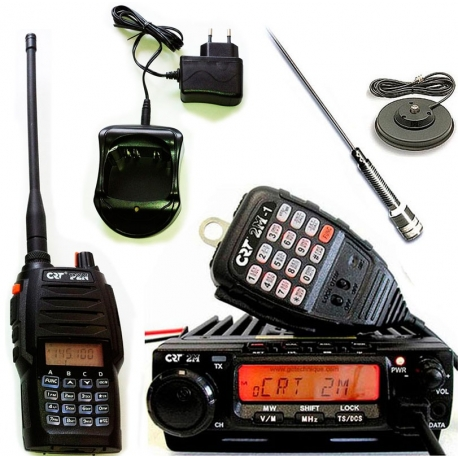 CRT 2M P2 PACK VHF MOBILE + TALKIE