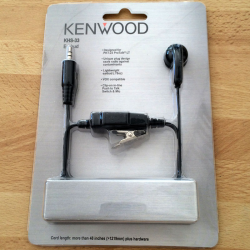 KENWOOD KHS-33 MICRO ECOUTEUR PKT23