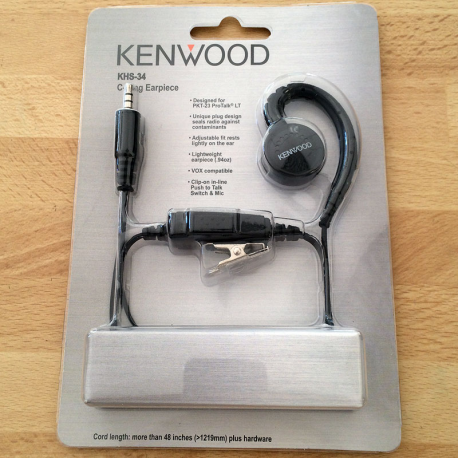 KENWOOD KHS-34 MICRO ECOUTEUR PKT23