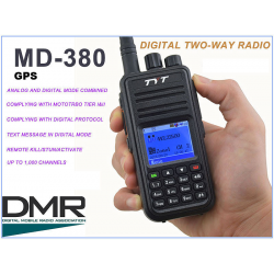 TYTERA MD380 DMR GPS ANALOG-DIGITAL