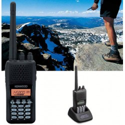 Kenwood TH-K20E - Talkie Walkie VHF Radio-Amateur, Vol Libre, Chasse