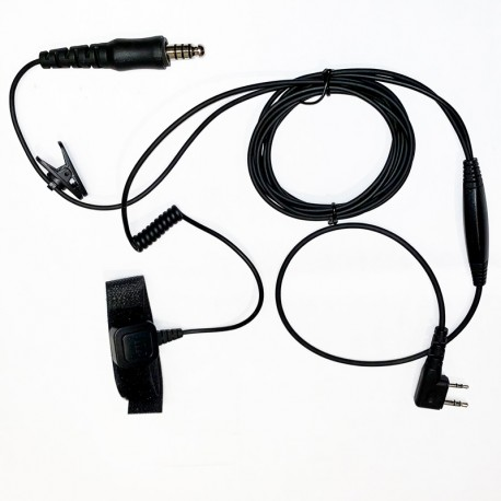 KIT INTERFACE KENWOOD CASQUE STILO