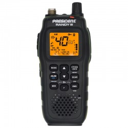 PRESIDENT RANDY 3 PORTABLE CB AM/FM