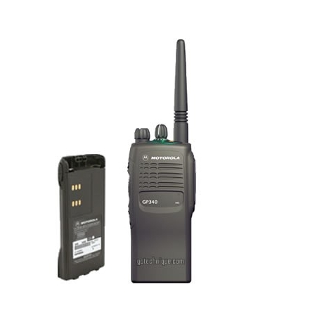 MOTOROLA GP-340 16cx ATEX PTI PORT.