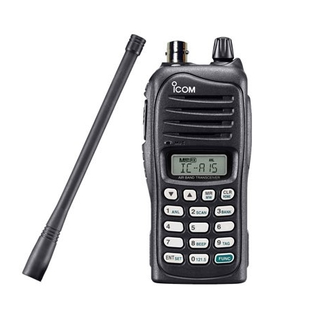 ICOM ICA15 AVIATION COM IPX4