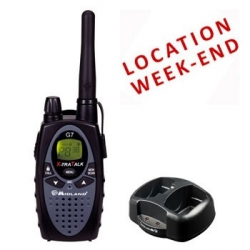 LOCATION TALKIE PMR G7 - WEEK-END