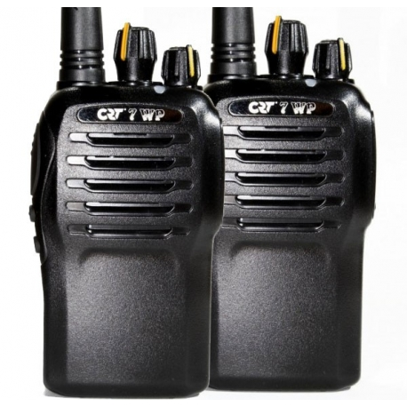 PAIRE CRT7 WP TALKIE UHF PMR/446 IP67