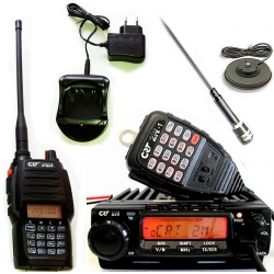 CRT 2M P2 - Pack VHF mobile + Talkie