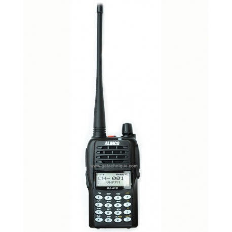 ALINCO DJA10 TALKIE VHF IP54