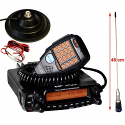 CRT 270M PACK V/UHF MOBILE+ANTENNE